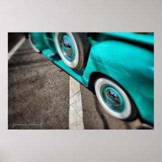 Classic Car 220 Poster Print