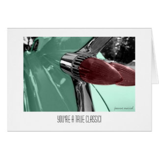 Classic Car 32 Father's Day Card