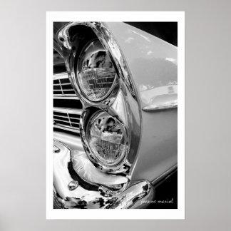 Classic Car 36 Poster Print