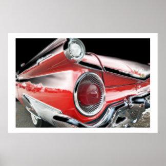 Classic Car 50 Poster Print