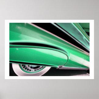 Classic Car 56 Poster Print
