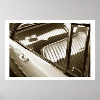 Classic Car 70 Poster Print