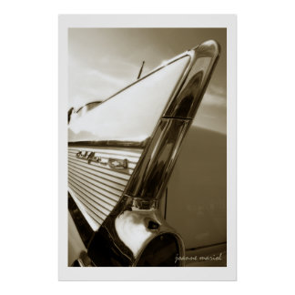 Classic Car 97 Poster Print