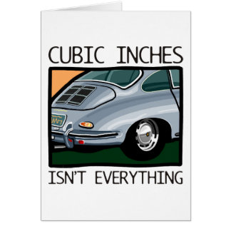 Classic car: Air-cooled 356 more than cubic inches Card