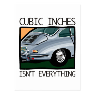 Classic car: Air-cooled 356 more than cubic inches Postcard