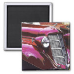 Classic car: Auburn 2 Inch Square Magnet