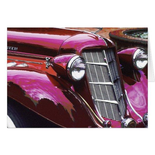 Classic car: Auburn Card