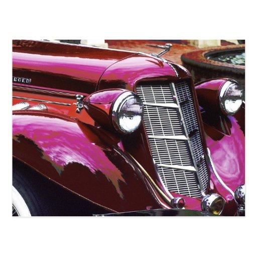 Classic car: Auburn Postcards