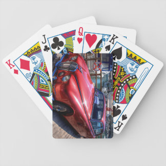 Classic Car Bicycle Playing Cards