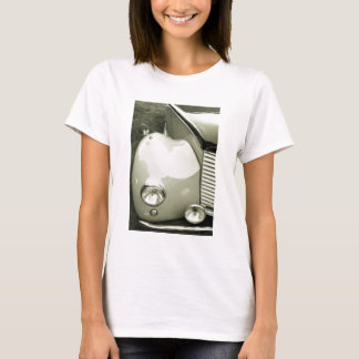 Classic Car - Black And White Photograph T-Shirt