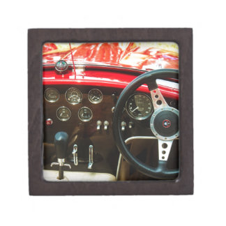 Classic Car Bra Cobra Jewelry Box