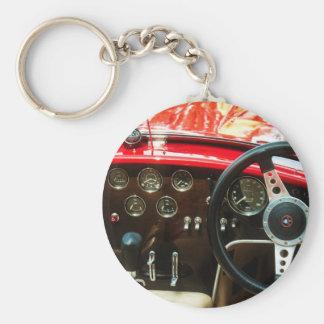 Classic Car Bra Cobra Keychain