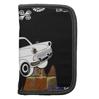 CLASSIC CAR BRICK BACKGROUND PRODUCTS FOLIO PLANNER