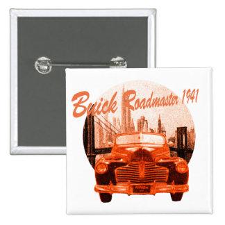 Classic Car Buick Roadmaster 1941 Button
