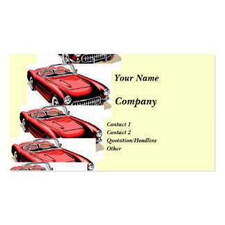 Classic Car Business Card Template