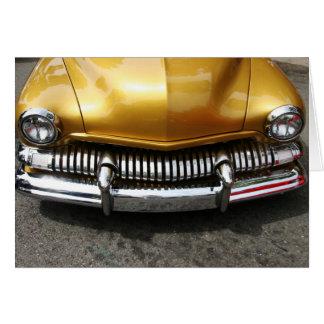 Classic Car Card-Blank Card