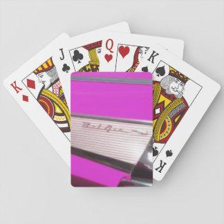 Classic car: Chevrolet Bel Air Poker Cards