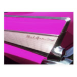 Classic car: Chevrolet Bel Air Postcard