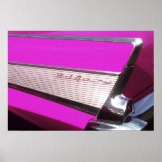 Classic car: Chevrolet Bel Air Poster