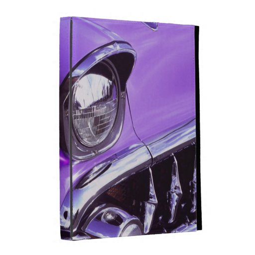 Classic car: Chevrolet with flaming hood iPad Case