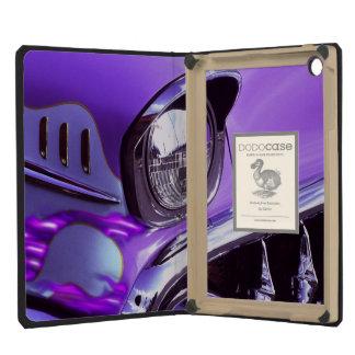 Classic car: Chevrolet with flaming hood iPad Mini Case