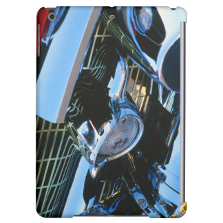 Classic Car Chrome Abstract Red 1957 Chevy Bel Air Cover For iPad Air