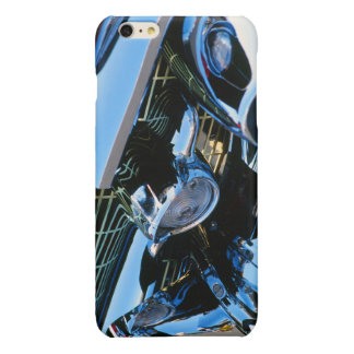 Classic Car Chrome Abstract Red 1957 Chevy Bel Air Glossy iPhone 6 Plus Case
