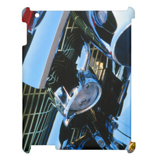 Classic Car Chrome Abstract Red 1957 Chevy Bel Air iPad Case