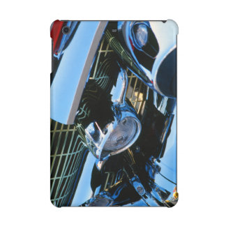 Classic Car Chrome Abstract Red 1957 Chevy Bel Air iPad Mini Cases