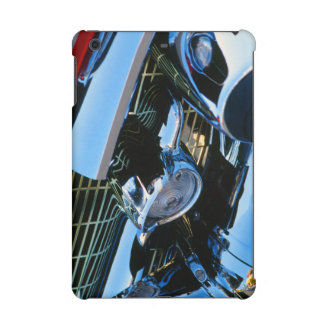 Classic Car Chrome Abstract Red 1957 Chevy Bel Air iPad Mini Cover