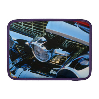 Classic Car Chrome Abstract Red 1957 Chevy Bel Air MacBook Sleeves