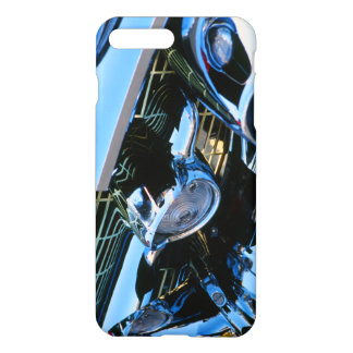 Classic Car Chrome Abstract Red 1957 Chevy Bel Air iPhone 8 Plus/7 Plus Case