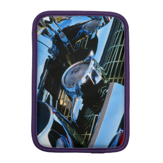 Classic Car Chrome Abstract Red 1957 Chevy Bel Air Sleeve For iPad Mini