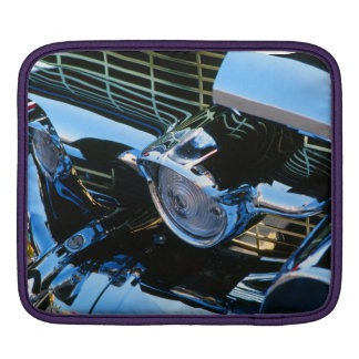 Classic Car Chrome Abstract Red 1957 Chevy Bel Air Sleeve For iPads