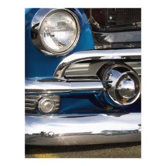 Classic Car Chrome Closeup Flyer