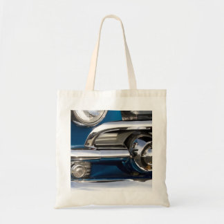 Classic Car Chrome Closeup Tote Bag
