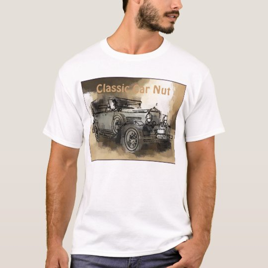 Classic Car, Classic Car Nut T-Shirt