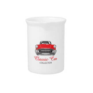 CLASSIC CAR COLLECTOR DRINK PITCHER