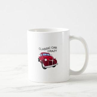 Classic Car Crazy Coffee Mug
