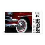 classic car design stamp