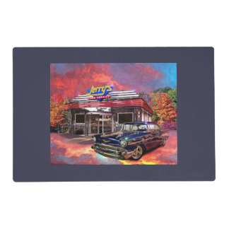 Classic Car Diner Placemat