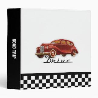 Classic Car Driver 3 Ring Binder