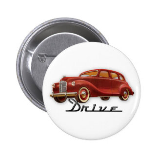 Classic Car Driver Button