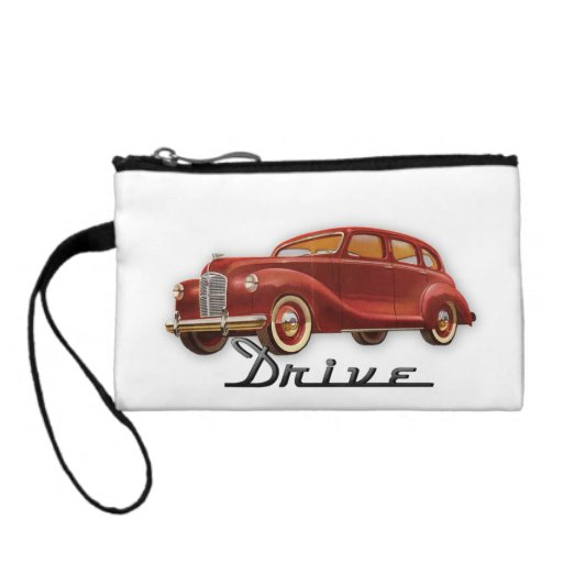 Classic Car Driver Coin Wallet