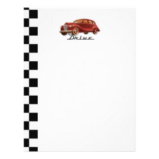 Classic Car Driver Flyer