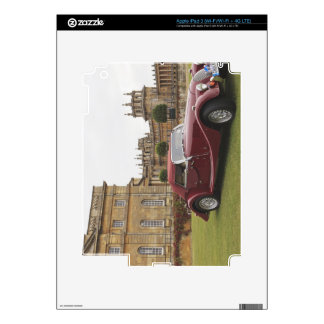 Classic car exhibition, Blenheim Palace iPad 3 Decal