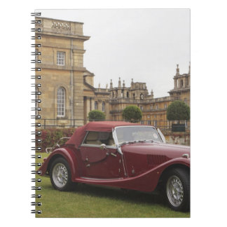 Classic car exhibition, Blenheim Palace Notebook
