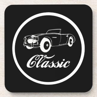 Classic Car Fifties Convertible Sporstcar Drink Coaster