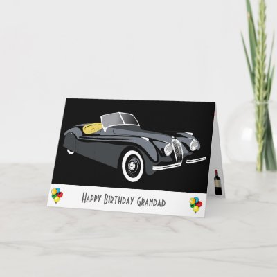 Jaguar Birthday Card Zazzle