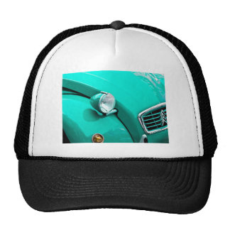 Classic Car Grill and Headlight Photograph Trucker Hat